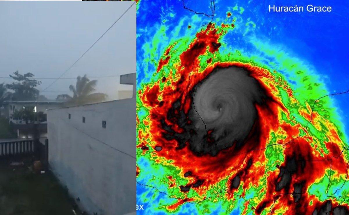 Huracán Grace ya es categoría 3 y pronto tocará tierra; Estados que deben estar alerta y mensaje AMLO