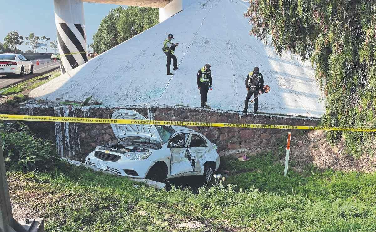 Trabajador de software muere en accidente sobre la autopista México-Pachuca, en Tecámac