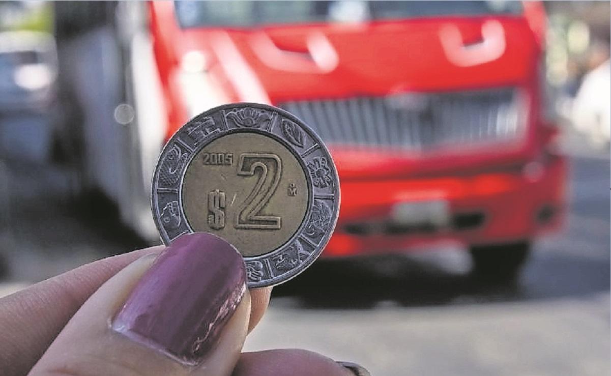 Autoridades avalan aumento de 2 pesos a la tarifa del transporte público, en Morelos