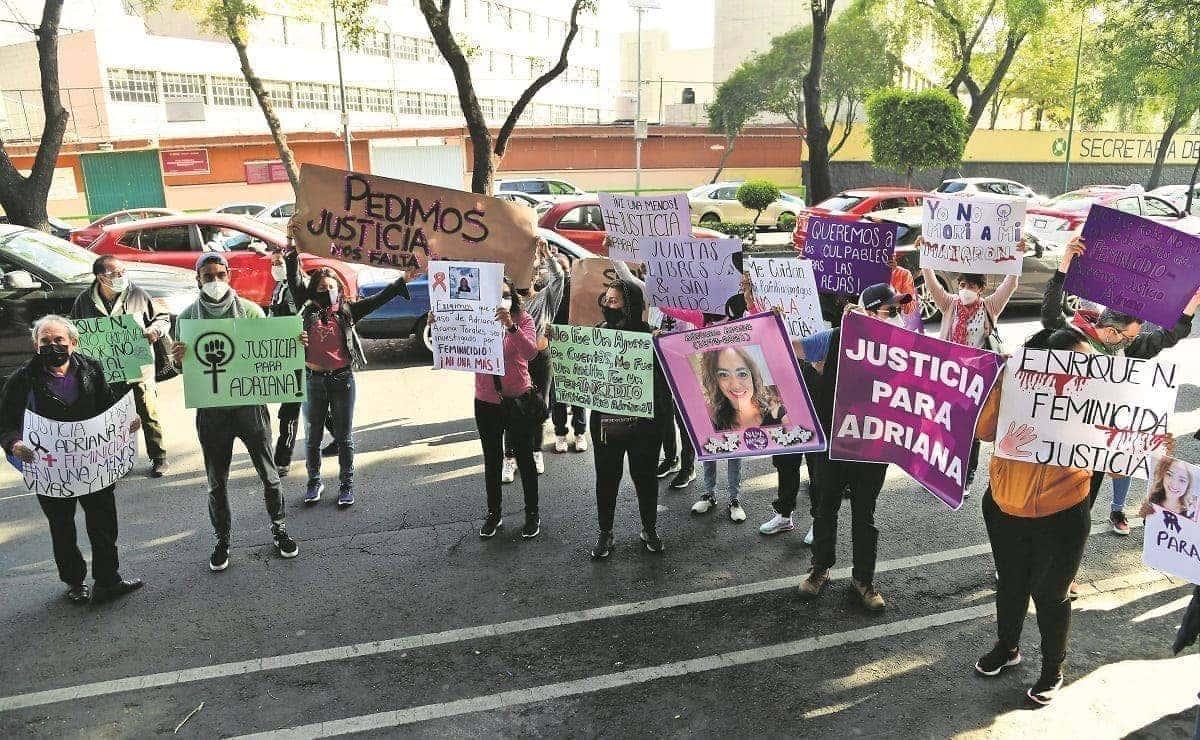 Exesposo de Adriana permanecerá en presión por delitos ajenos a su feminicidio, en CDMX