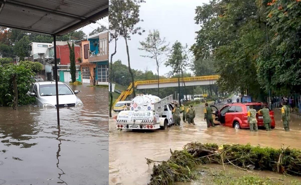Grace deja 8 muertos en su paso por Veracruz, y al menos 22 municipios inundados
