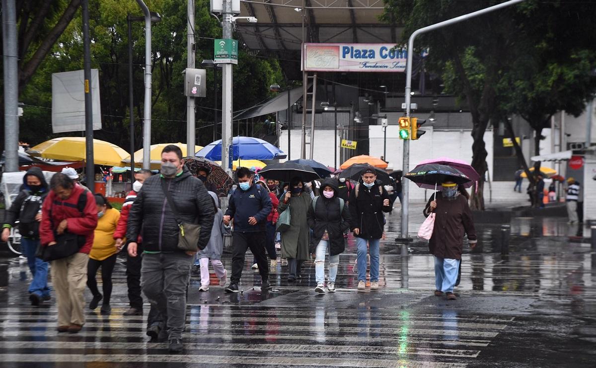 'Grace' se degrada a huracán categoría 1, por su paso se prevén lluvias intensas en CDMX