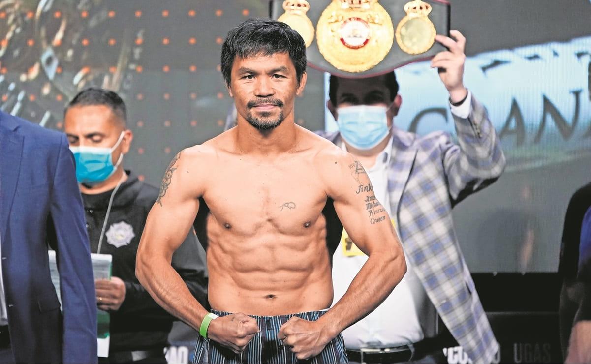 Manny Pacquiao enfrenta a  Yordenis Ugás, ¿será su última pelea?
