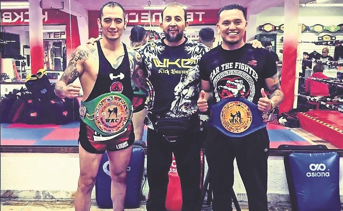 Eddy Galván es peleador de kickboxing, pero diario enfrenta al Covid como enfermero