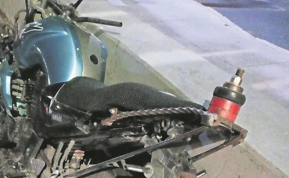 Mototaxista pierde la vida al caer de su potro metálico, en el Periférico
