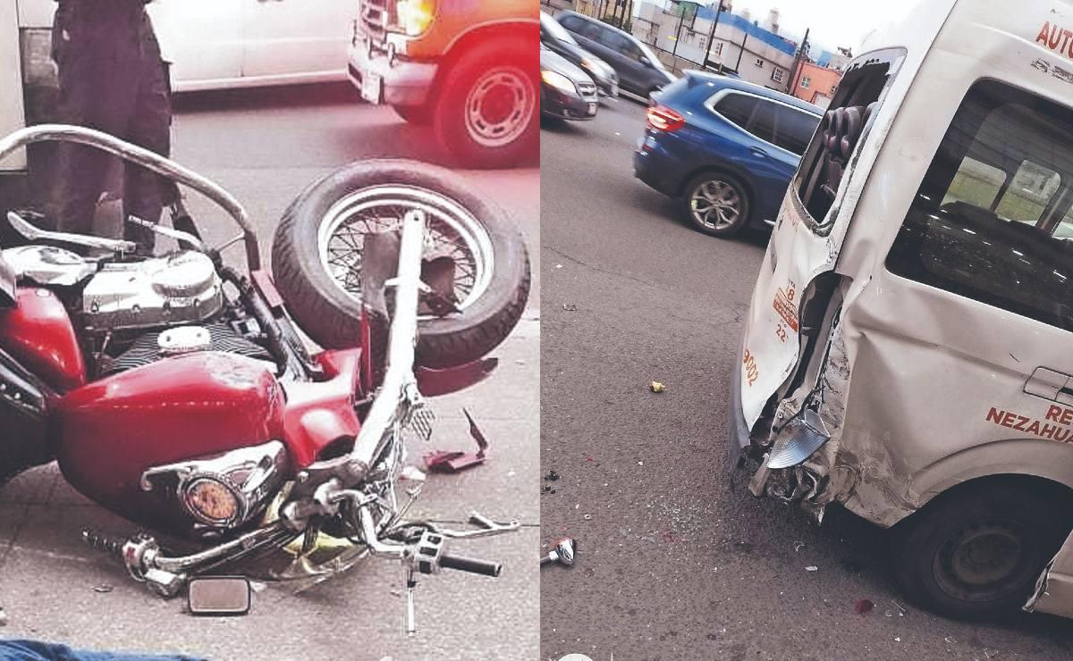 Motociclista veloz choca contra camioneta estacionada en la GAM, en día de rodada por bikers caídos