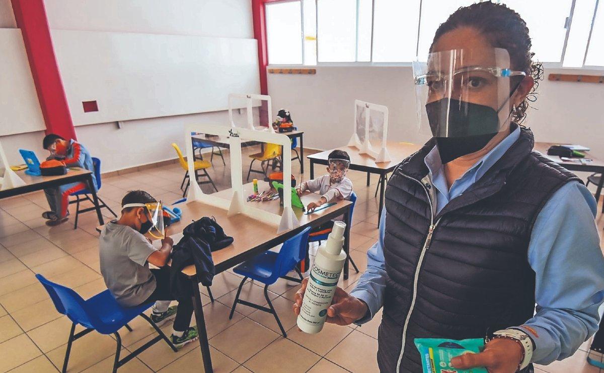 Niños regresarán a las aulas en CDMX, sin pruebas de Covid ni horarios escalonados