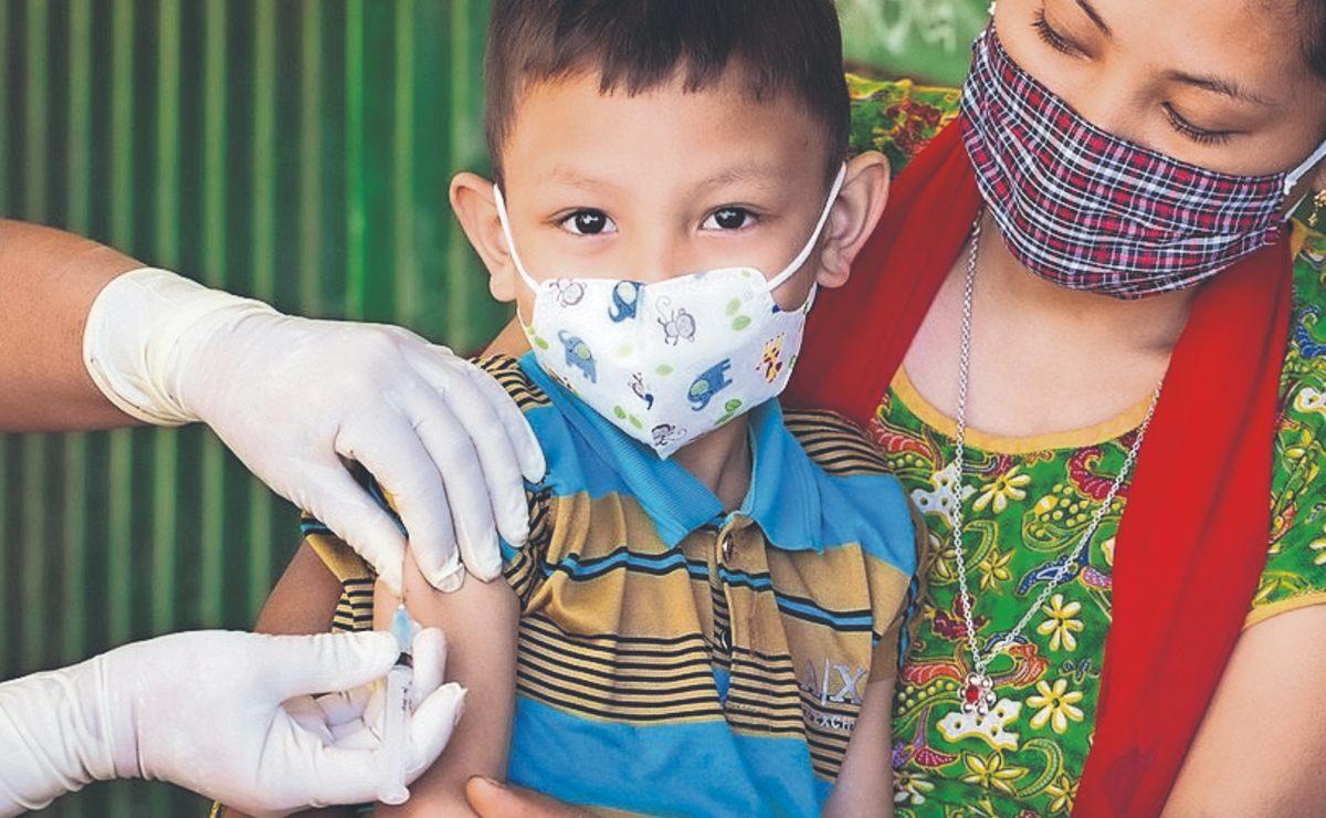 Inicia vacuna contra sarampión y rubéola para ñinos de 0 a 8 años, en Morelos