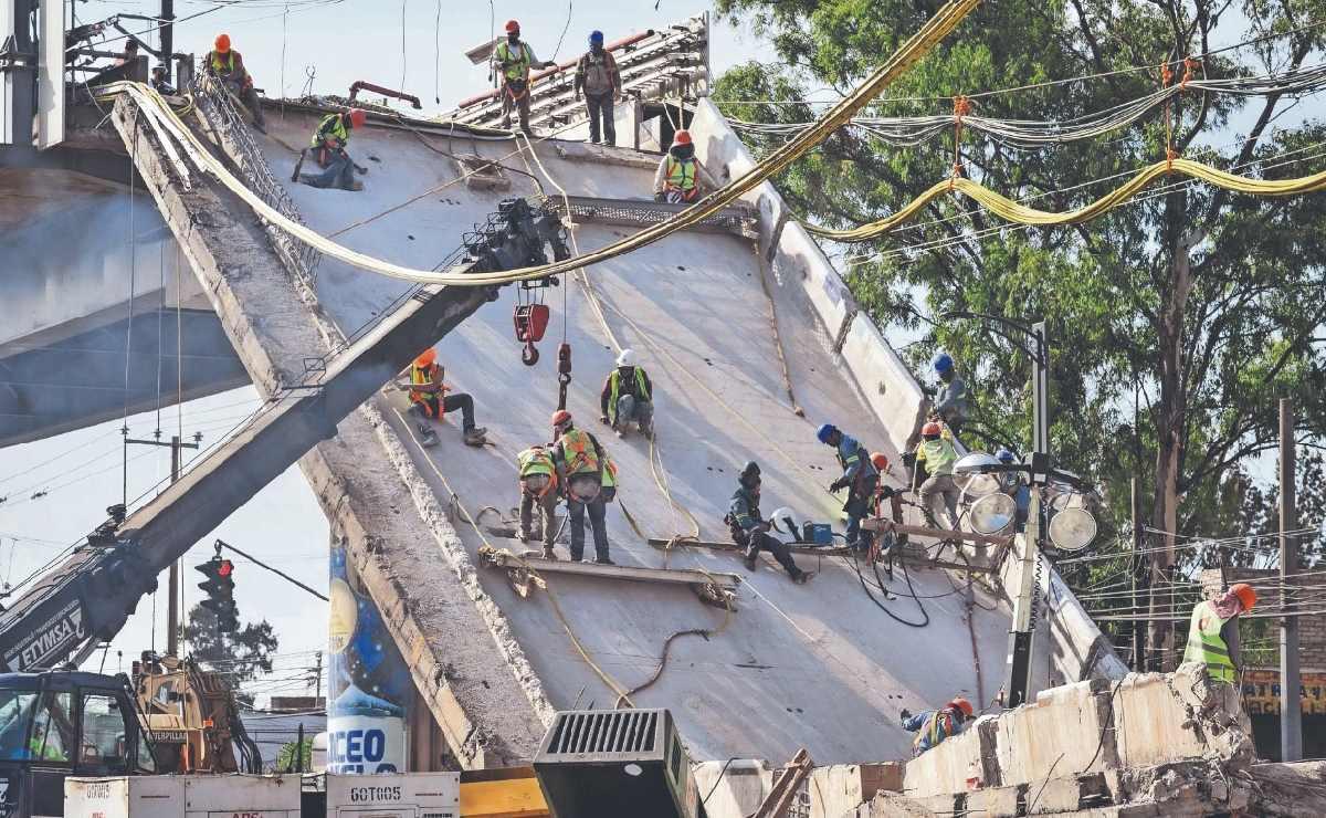 INAI ordena a la FGR revelar los detalles de investigación sobre colapso del Metro Línea 12