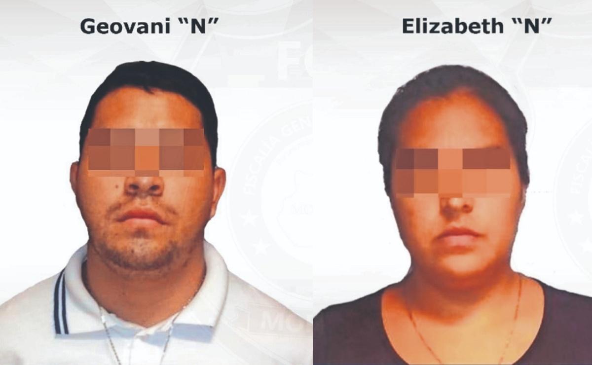 Tras confesar homicidio, pareja es sentenciada a 16 años de prisión en Morelos