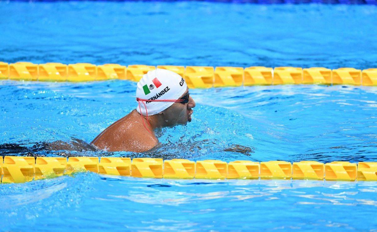 Jesús Hernández gana el oro para México en la natación en los Juegos Paralímpicos