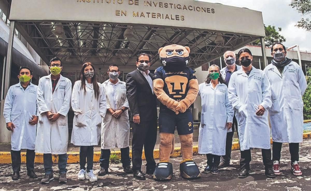 ¡Orgullo Puma! UNAM crea cubrebocas antimicrobiano que destruye el Covid-19