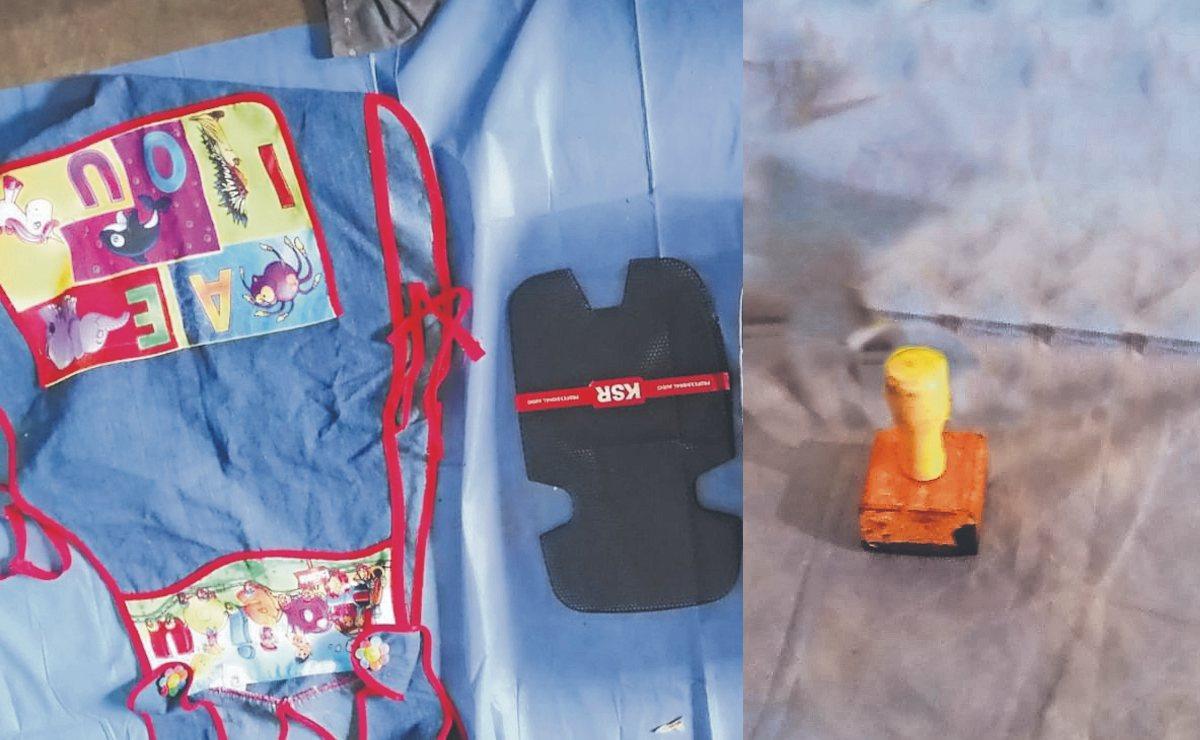 Desde engrapadoras hasta marcatextos, hallan objetos robados de escuelas en varias zonas de Morelos