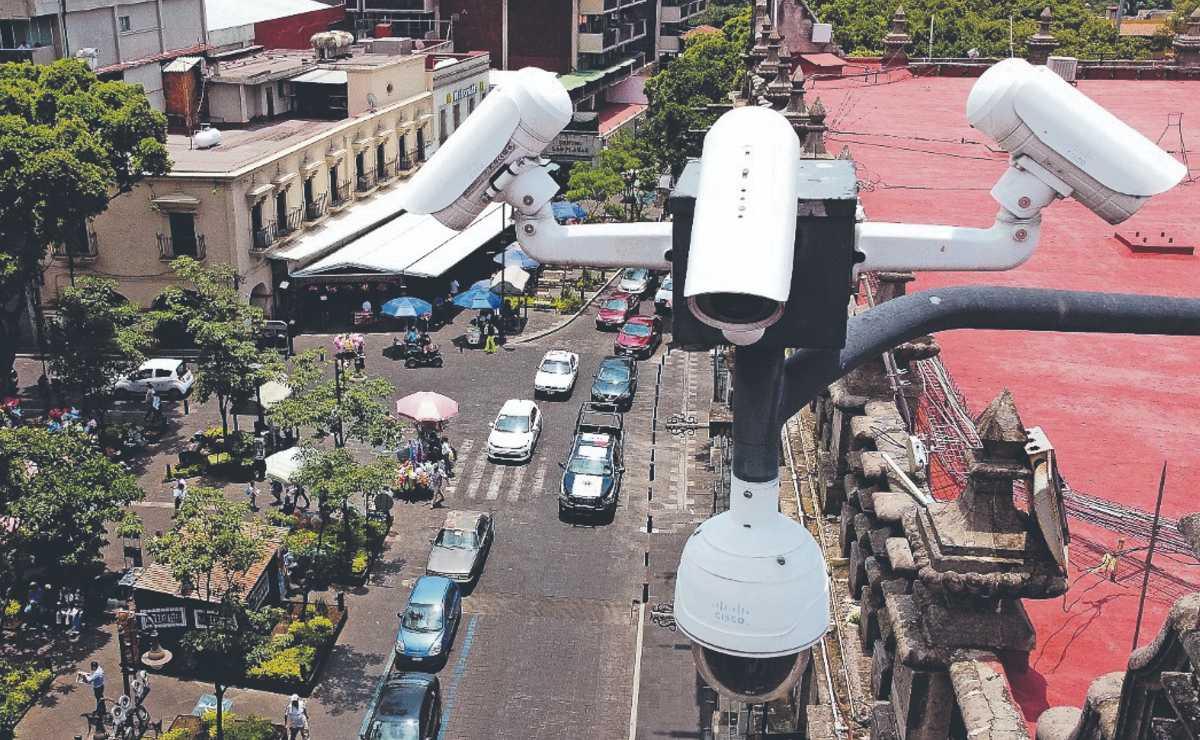 Invierten más de 31 millones en el mejoramiento del sistema de videovigilancia, en Morelos
