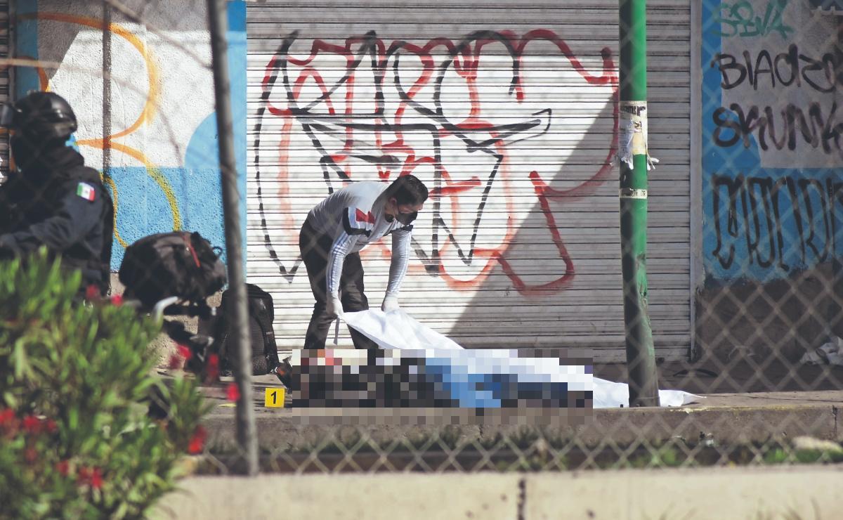 Motociclista se vuela tope y termina muerto en calles de Chimalhuacán