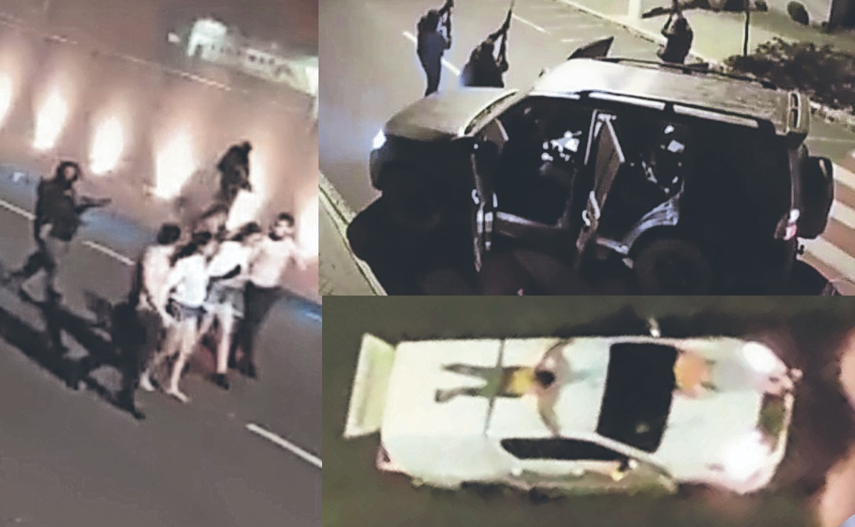 Como de película, matan a 3 en asalto y utilizan a rehenes como escudos humanos en Brasil