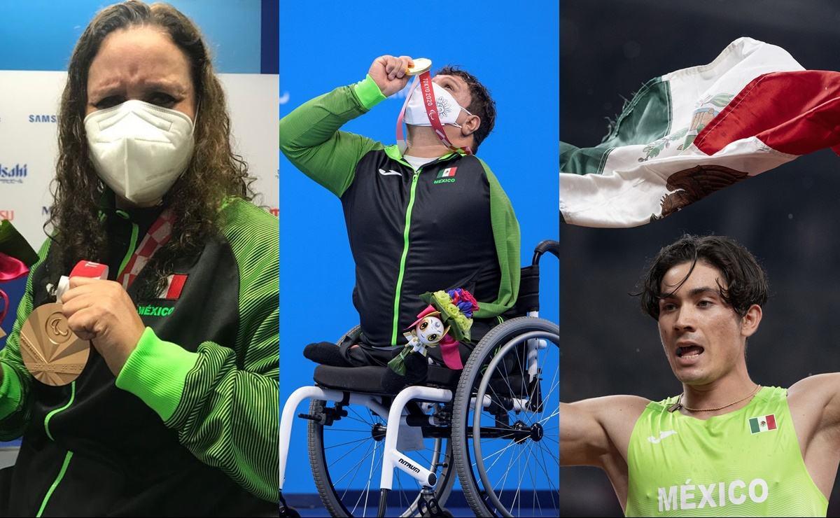 México supera marca de 300 medallas en Juegos Paralímpicos, con dos oros y dos bronces
