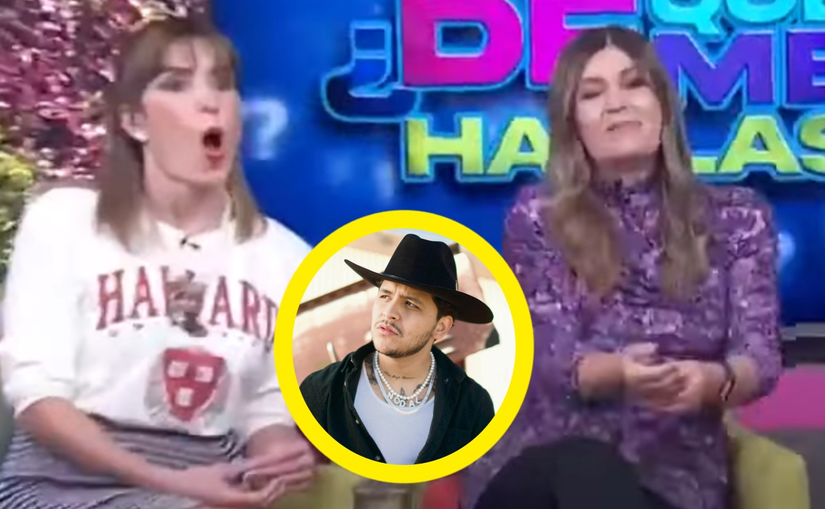 "Tunden a integrante de ""Hoy"" por comentarios racistas y clasistas contra Christian Nodal"