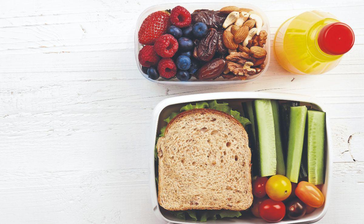 Así puedes prepararle un lunch saludable a tu hijo para que no coma cochinaditas