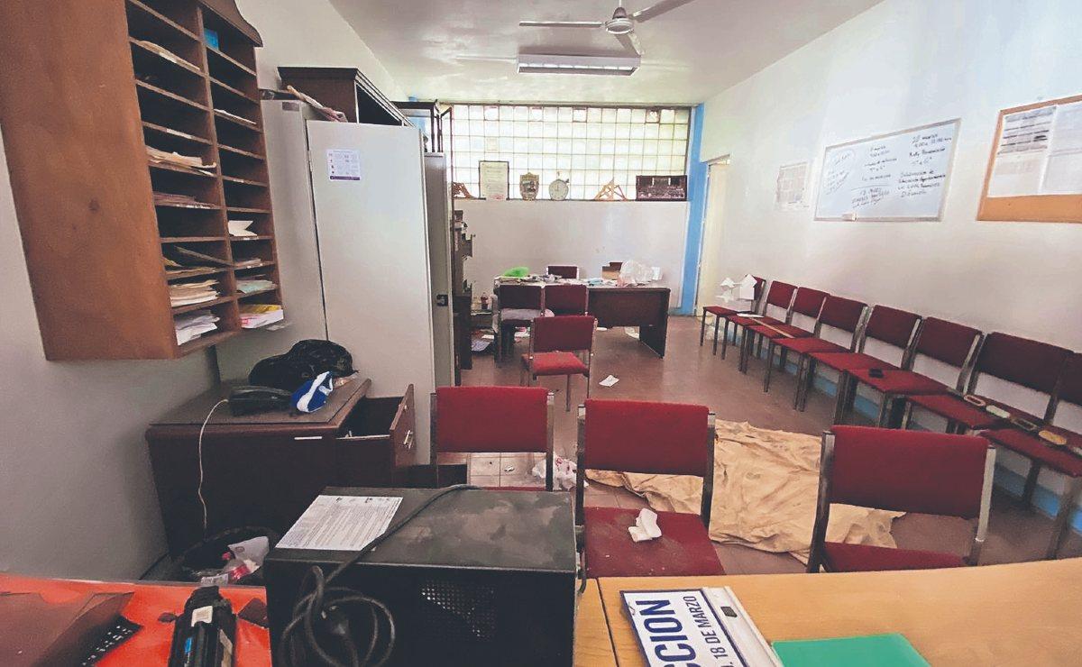 Múltiples saqueos en una primaria frustra el regreso a clases, en Morelos