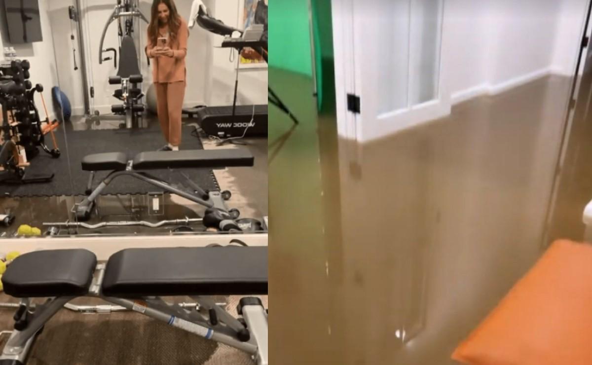 Thalía vive momentos aterradores tras inundarse su casa, por lluvia apocalíptica en Nueva York