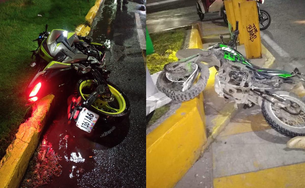 En la Avenida del Peñón del Edomex, murieron tres motociclistas en tres días