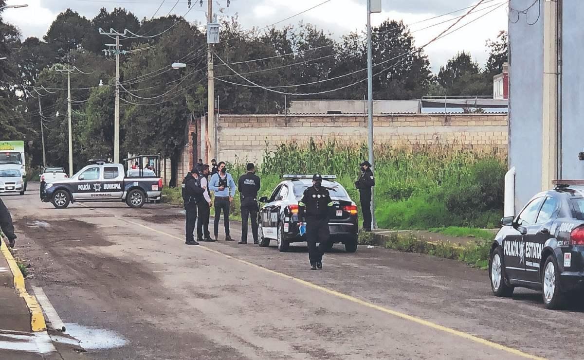 Grupo criminal en el Edomex tira cadáver de un hombre, con mensaje para sus rivales