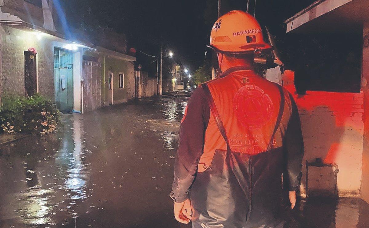Muere una familia tras fuertes lluvias en Morelos, una bebé entre las víctimas
