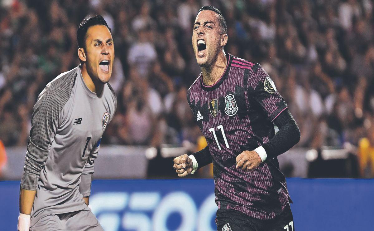 Costa Rica vs México ¿Dónde y a qué hora ver el partido rumbo a Qatar 2022
