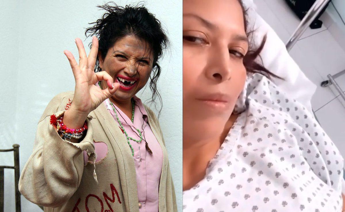 """""""Por si estaban con el pendiente"""", La Chupitos aparece hospitalizada y canalizada"""