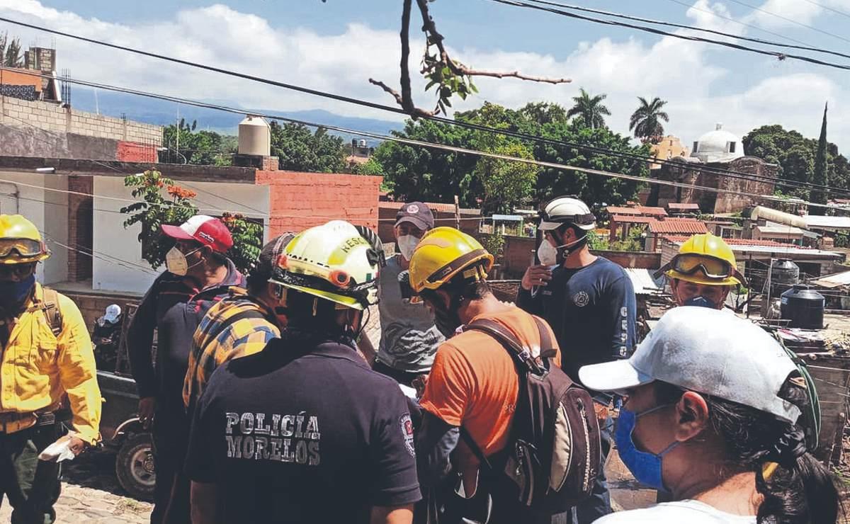 Vecinos se topan con el cadáver de un hombre que estaba desaparecido, en Morelos