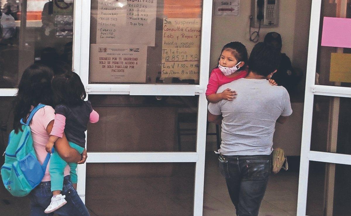 Informan que sólo hay 46 chavos hospitalizados por Covid-19, en el Edomex y la CDMX