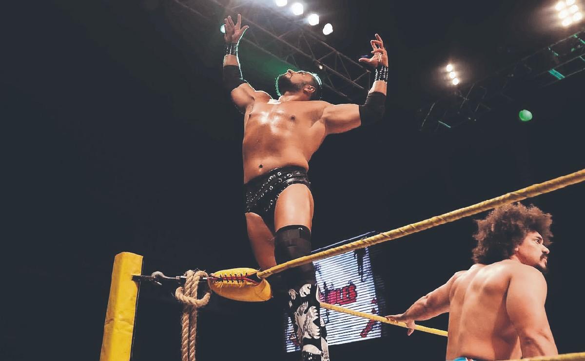 Texano Jr. se despide de la Triple A para convertirse en luchador independiente