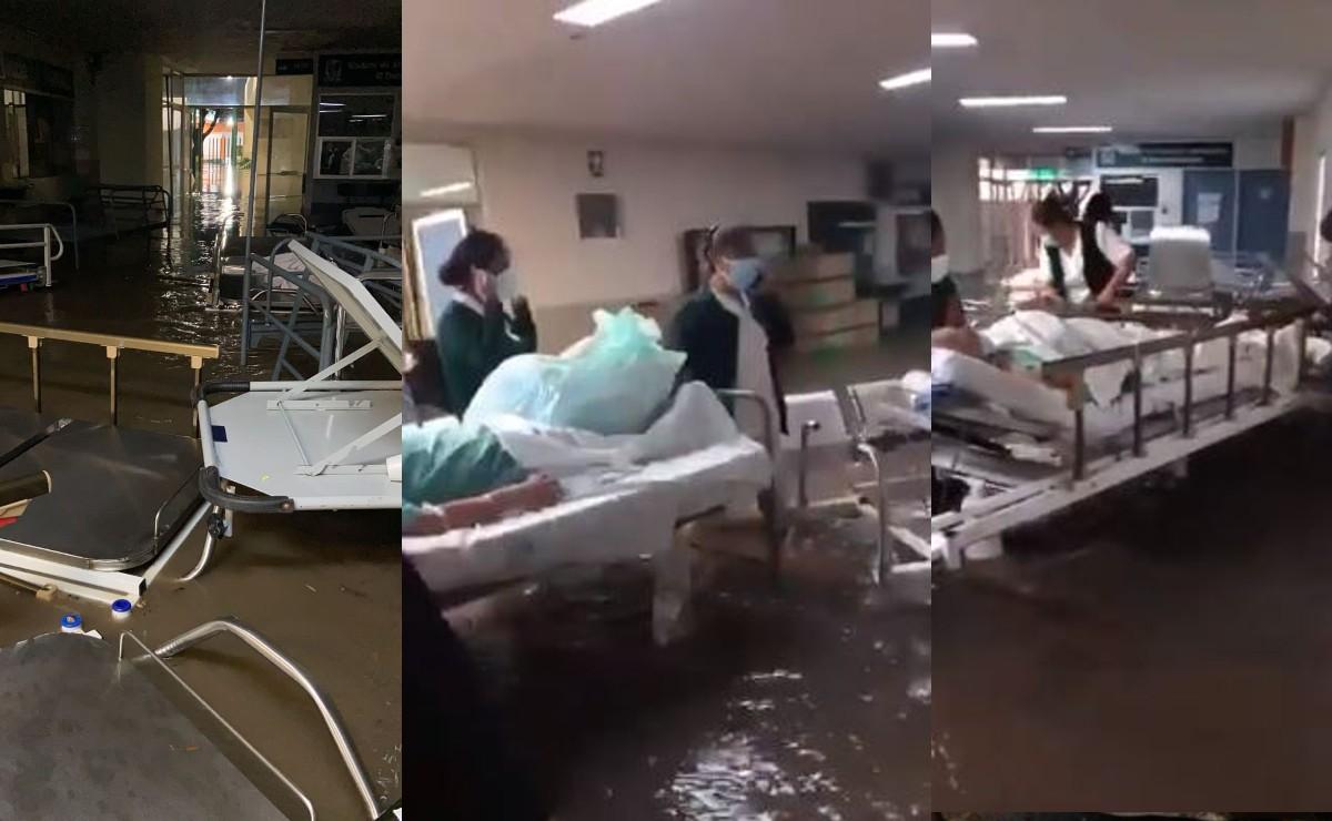 Mueren 10 pacientes Covid en Tula al quedarse sin oxígeno, tras inundarse IMSS