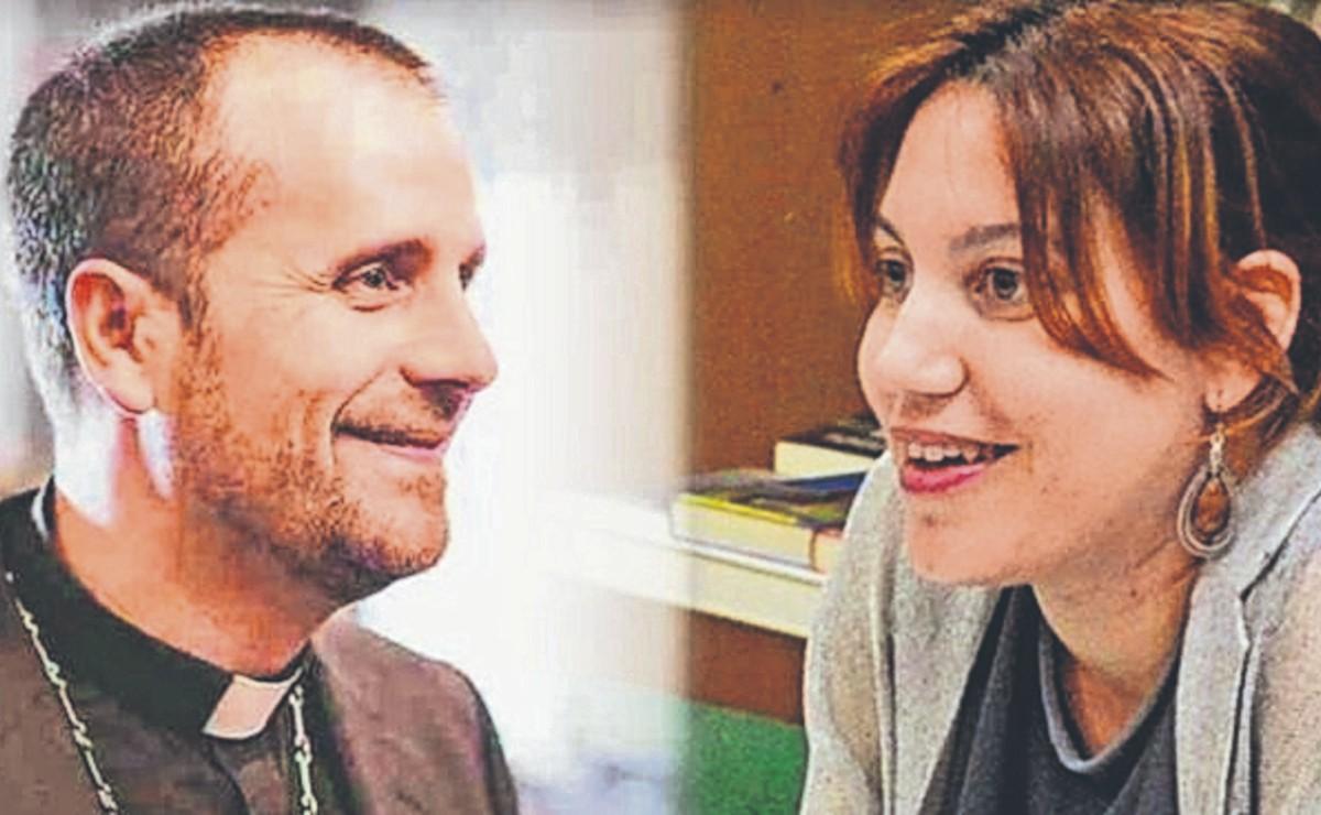 Obispo español deja su cargo para vivir con su pareja escritora de novelas eróticas