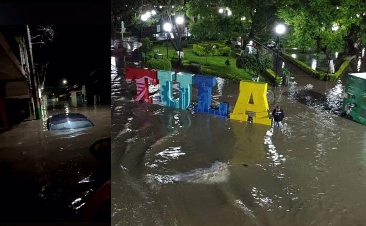 Se desborda el Río Tula en Hidalgo, deja devastación en calles y hospital del IMSS