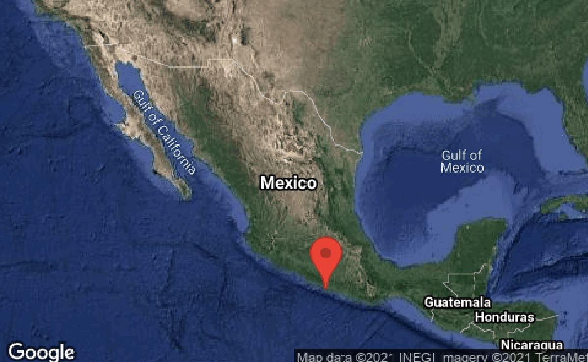 Sismo de 6.9 grados en Guerrero se siente fuerte en CDMX y zonas vecinas