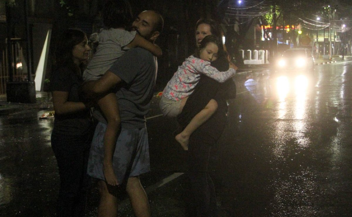 Vuelve a temblar un 7 de septiembre, capitalinos temen que se repita historia del 19-S