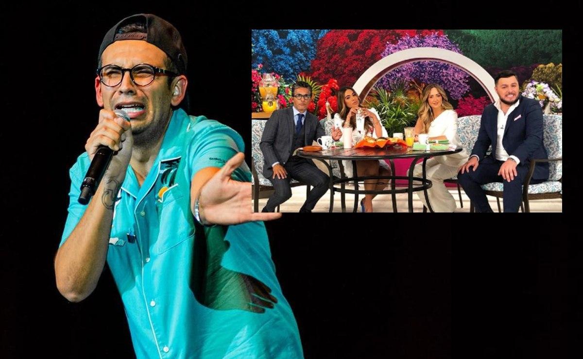 """El """"Capi"""" Pérez arremete contra programa Hoy, en plena transmisión de Venga la Alegría"""