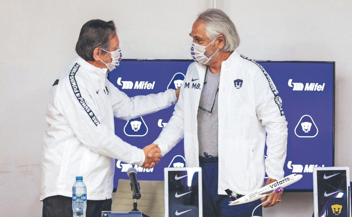 """""""No me gusta prometer algo que no sé si voy a cumplir"""", dice vicepresidente de Pumas"""