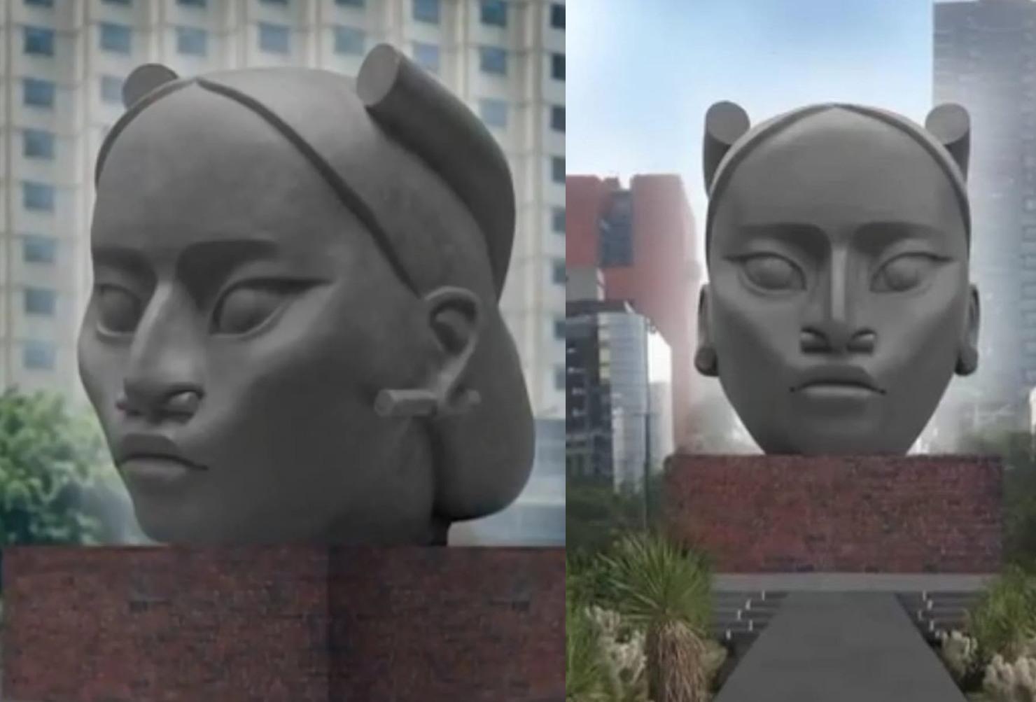"""Esta es la fecha en la que """"Tlali"""" reemplazará al monumento a Colón en CDMX"""