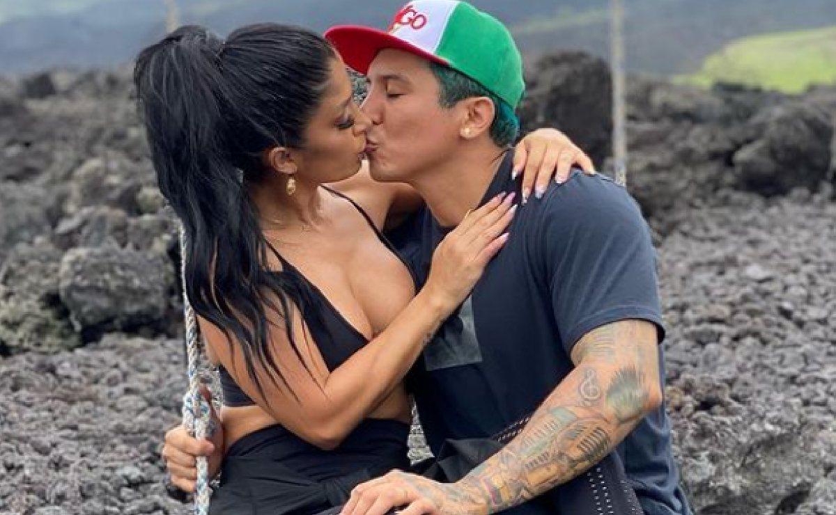 """Kimberly Flores abandona """"La Casa de los Famosos"""" para salvar su matrimonio con Edwin Luna"""