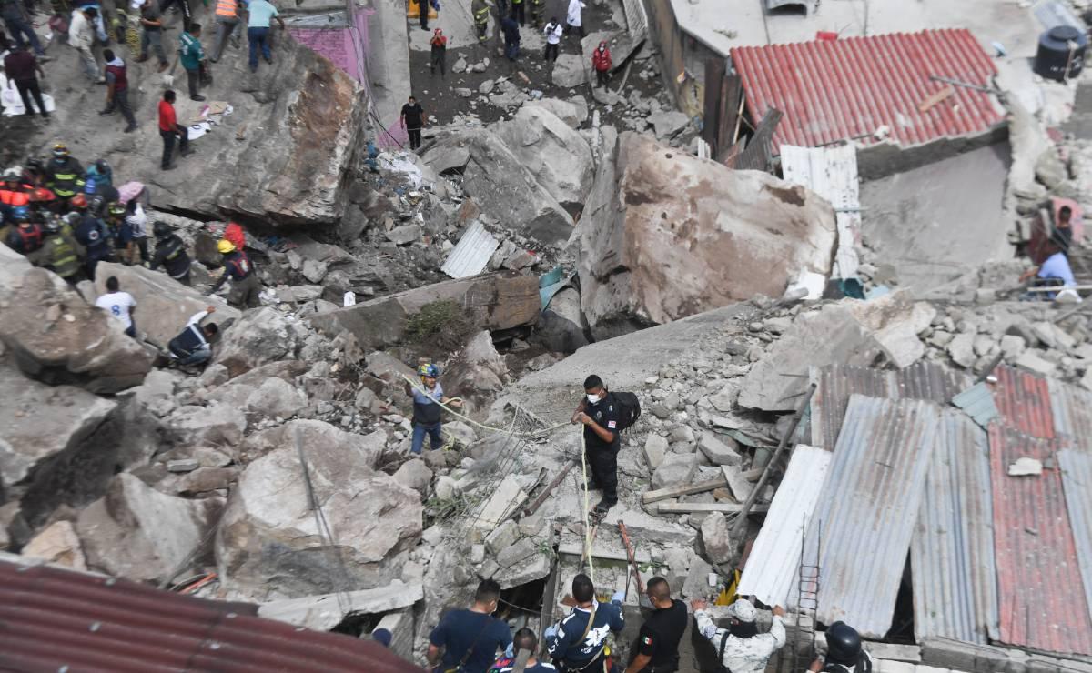 Trailero trabajaba cuando su casa de derrumbó en el Chiquihuite, solo la ha visto en fotos
