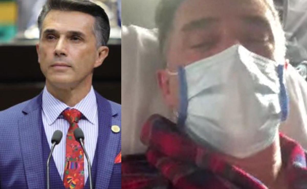 Hospitalizan a Sergio Mayer, sospechan que fue envenenado
