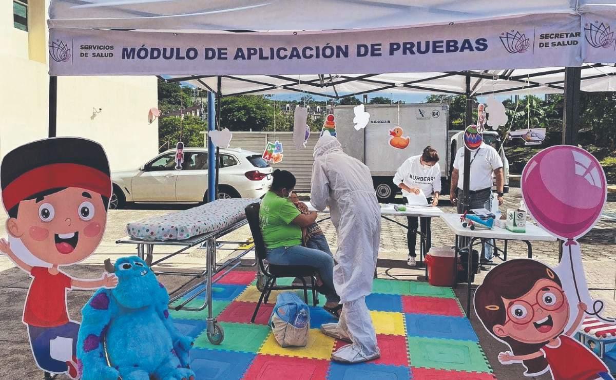 Instalan módulos de atención para sospechosos de Covid, en 3 municipios de Morelos