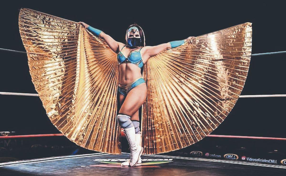 """Reyna Isis y Dark Silueta buscan destronar a la Jarochita, en la """"Noche de campeones"""""""