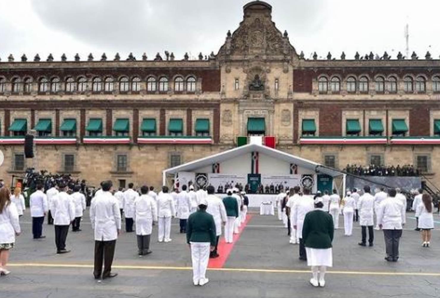 AMLO volverá a dar el Grito de Independencia en el Zócalo sin público, por el Covid-19