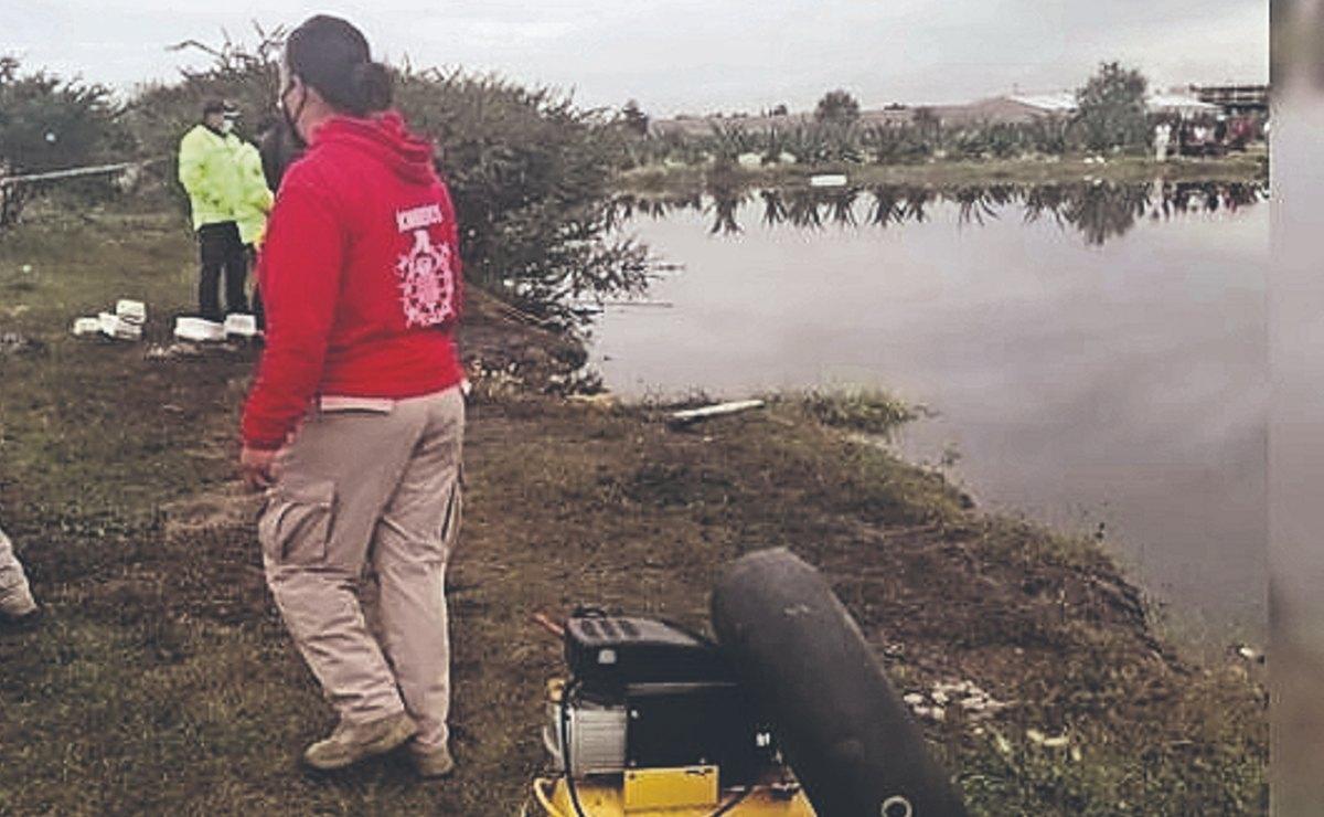 Día de campo termina en tragedia en Teotihuacán, joven muere ahogado