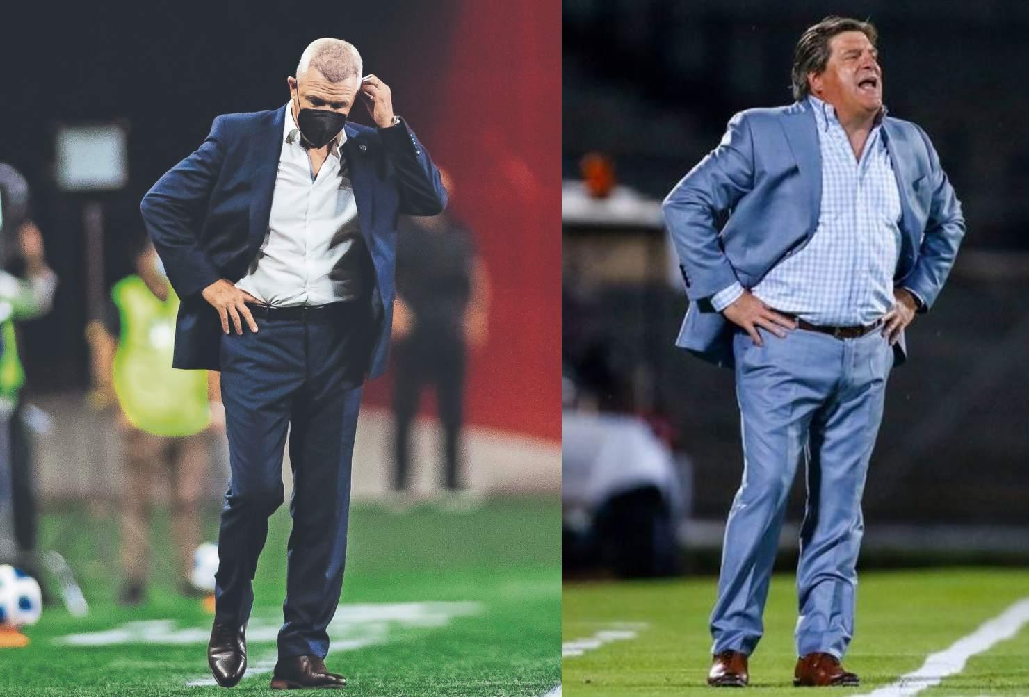 Javier Aguirre y Miguel Herrera, los dos técnicos más caros y sin buenos resultados