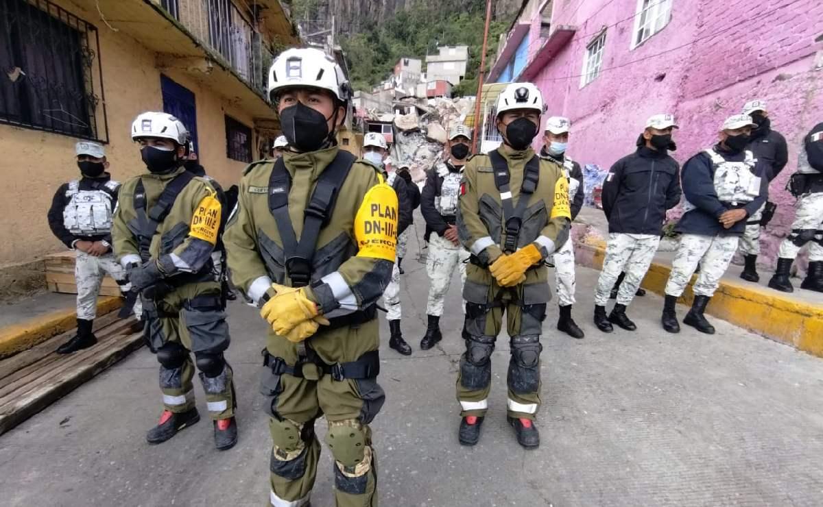 Rescatista asegura que desaparecidos en Cerro del Chiquihuite pueden estar con vida